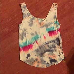 Very cute and trendy tie-dyed tank top